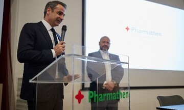 Mητσοτάκης στην Pharmathen: «Δεν υπάρχει επιτυχημένη εταιρεία χωρίς ικανοποιημένους εργαζόμενους»