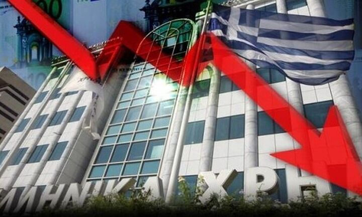 Νέα βουτιά στο χρηματιστήριο της Αθήνας λόγω κορωνοϊού