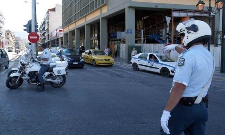 Κυκλοφοριακές ρυθμίσεις το μεσημέρι στο κέντρο της Αθήνας