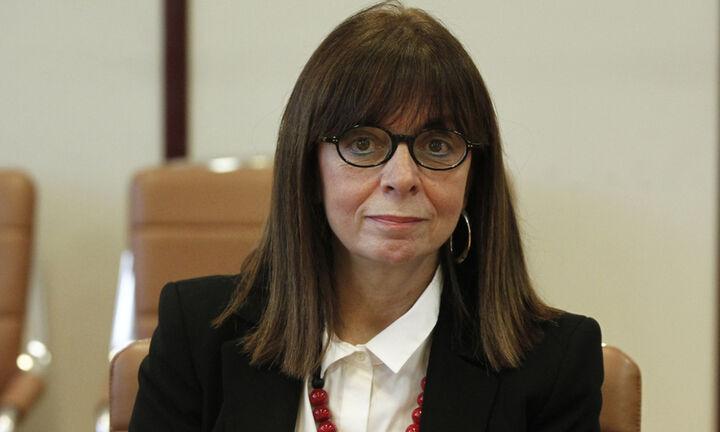 Νέα Πρόεδρος της Δημοκρατίας η Κατερίνα Σακελλαροπούλου