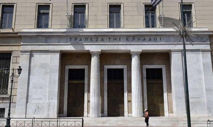 Μηδενική ανάπτυξη λόγω κορονοϊού βλέπει η Τράπεζα της Ελλάδος
