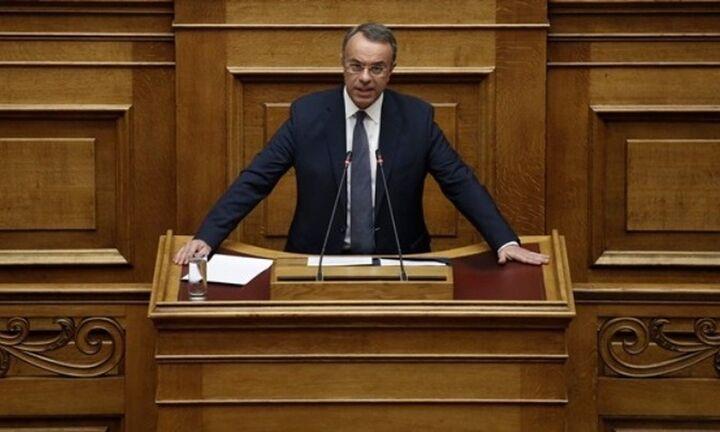 Αναστολή δόσεων έως τον Σεπτέμβριο για συνεπείς δανειολήπτες ζητά ο Χρ. Σταϊκούρας