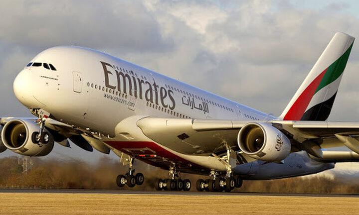 Emirates: Tρεις επιλογές στους πελάτες της που επηρεάζονται oι πτήσεις τους