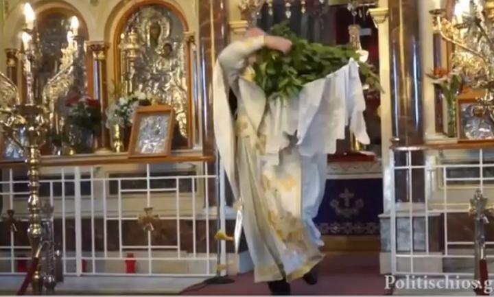 Συνελήφθη ο παπάς με το …πατίνι (Video)