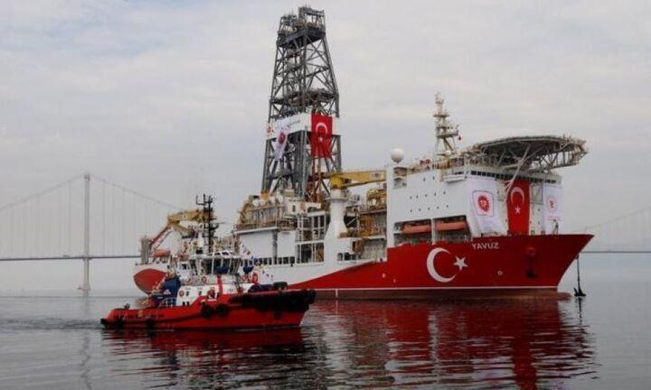 ΚΥΠΕ: Προς την κυπριακή ΑΟΖ συνοδεία φρεγάτας το Γιαβούζ