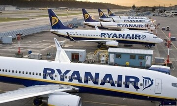 Ryanair:  Με το 40% των προγραμματισμένων της πτήσεων από την 1η Ιουλίου