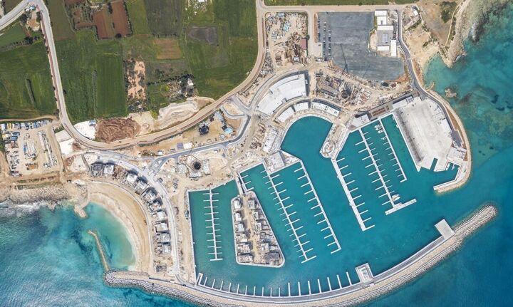 ΤΕΡΝΑ: Παραδόθηκε η πρώτη φάση του έργου της Μαρίνας Αγίας Νάπας στην Κύπρο