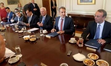 Υπουργικό συμβούλιο με φορτωμένη ατζέντα