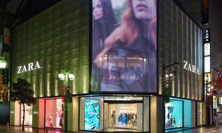 Λουκέτο σε 1.200 καταστήματα της Zara