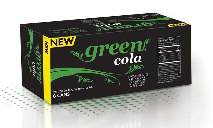 H Green Cola στην αμερικανική αγορά