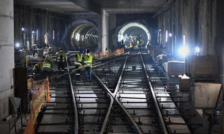 Στις σήραγγες και στα εργοτάξια του Μετρό Θεσσαλονίκης ο Γ.Γ. Υποδομών, Γ. Καραγιάννης