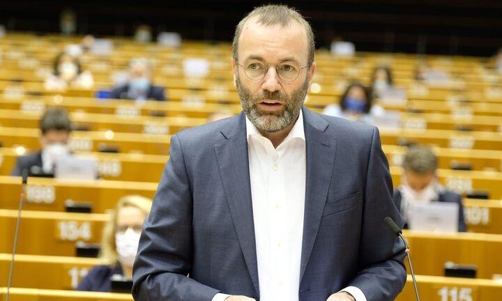 Βέμπερ: Ευρωπαϊκά και όχι διμερή τα προβλήματα με την Τουρκία