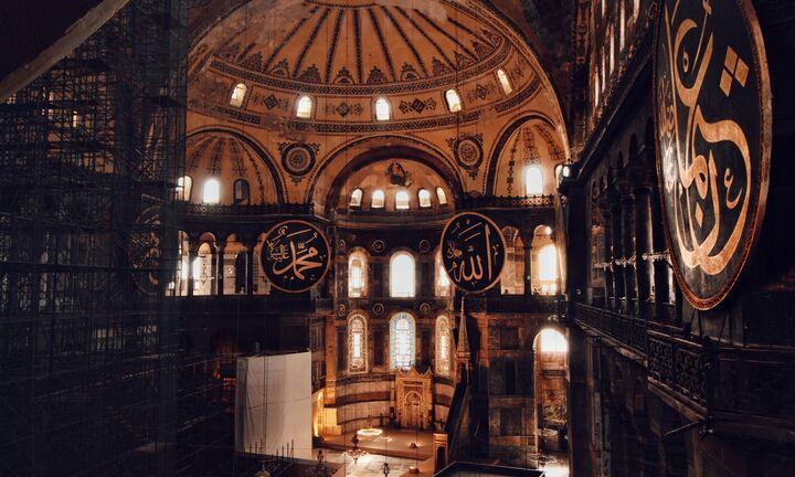 Στον Ερντογάν το μπαλάκι για την Αγία Σοφία