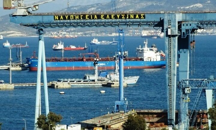 Το σχέδιο εξυγίανσης των Ναυπηγείων Ελευσίνας στην ΟΝΕΧ