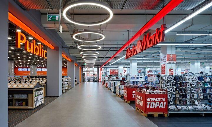 Public – MediaMarkt: Επενδύσεις 26 εκατ. ευρώ σε e-commerce και logistics