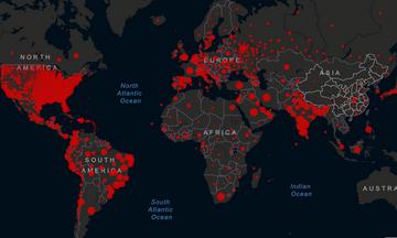 Συνεχίζει ακάθεκτος ο κορονοϊός με σχεδόν 780.000 θανάτους σε όλο τον κόσμο