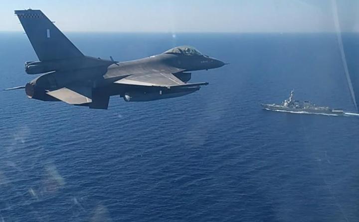 Κοινή άσκηση Ελλάδας - ΗΠΑ στη νότια Κρήτη