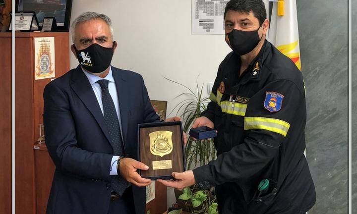 Ανανέωση συνεργασίας της ΕΔΑ ΘΕΣΣ με την Πυροσβεστική