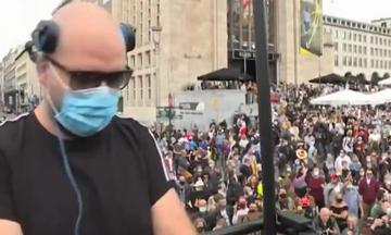 Μουσική διαμαρτυρία στις Βρυξέλλες