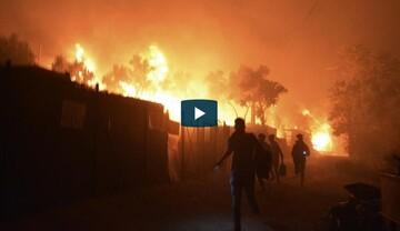 Στους δρόμους οι 13.000 πρόσφυγες και μετανάστες της Μόριας μετά την καταστροφική πυρκαγιά