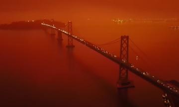 Το Σαν Φρανσίσκο έγινε κόκκινο