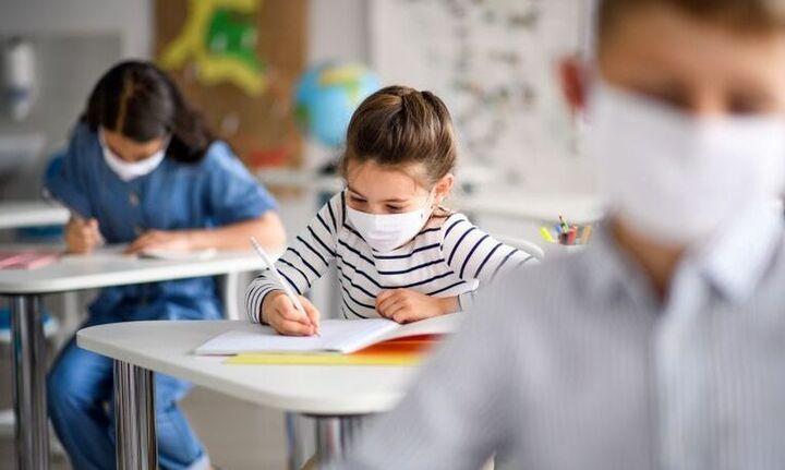 Παγώνη:Έγκλημα τα παιδιά στο σχολείο χωρίς μάσκα-Γώγος: Ανω των 12 η μεταδοτικότητα σαν των ενηλίκων