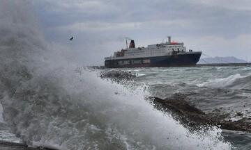 «Ιανός»: Ενισχύεται και αποκτά χαρακτηριστικά Μεσογειακού Κυκλώνα