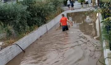 Πλημμύρες στην Κορινθία προκάλεσε ο «Ιανός»