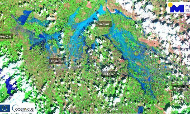 Πάνω από 210.000 στρέμματα κάτω από το νερό στον θεσσαλικό κάμπο-Ψυχρότερο κατά 3 βαθμούς το Ιόνιο