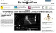 New York Times: Ο Τραμπ φοροαποφεύγει – Πλήρωσε μόνο 750 δολάρια