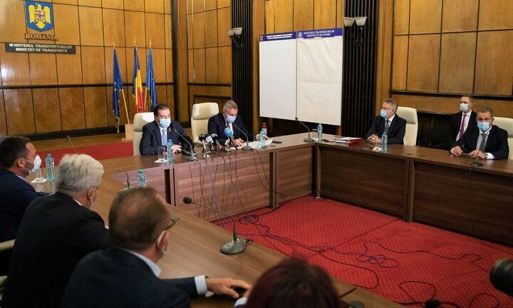 Σιδηροδρομικό έργο 573 εκατ. € υπέγραψε η Ακτωρ στη Ρουμανία