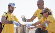 Lidl και Ίδρυμα Λασκαρίδη καθαρίζουν τη Σαντορίνη