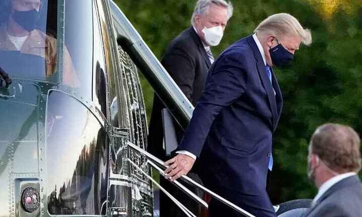 Βγήκε από το νοσοκομείο ο Τραμπ