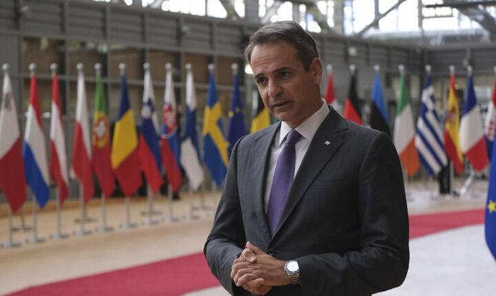 Μητσοτάκης: Συζήτηση στη Σύνοδο Κορυφής για την Τουρκία την Παρασκευή