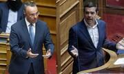 Πρόταση μομφής κατά του Χρήστου Σταϊκούρα κατέθεσε ο Αλέξης Τσίπρας