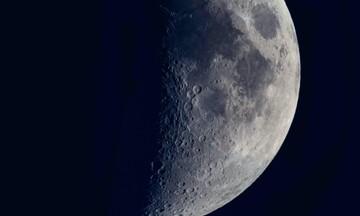 Βρέθηκε νερό στη φωτεινή πλευρά της Σελήνης