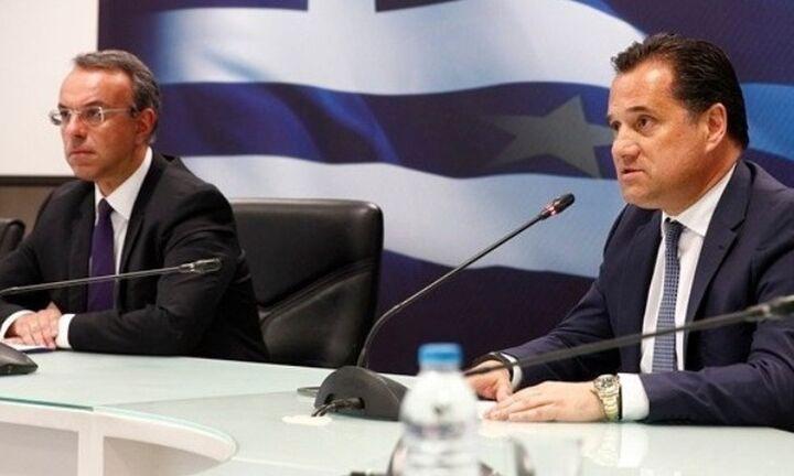 Σταϊκούρας - Γεωργιάδης: Έρχονται άλλα τρία δισ. ευρώ για τη στήριξη της οικονομίας