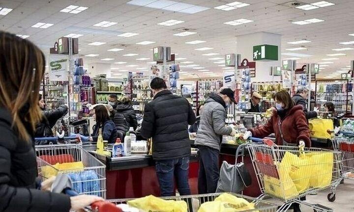 Νέα αύξηση του τζίρου των σούπερ μάρκετ