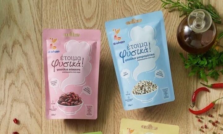 3αλφα: Νέα κατηγορία προϊόντων οσπρίων-έτοιμα προς κατανάλωση