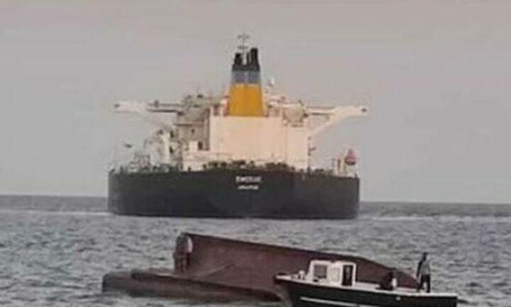 Τέσσερις νεκροί από σύγκρουση ελληνικού δεξαμενόπλοιου με τουρκικό αλιευτικό ανοιχτά της Μερσίνης