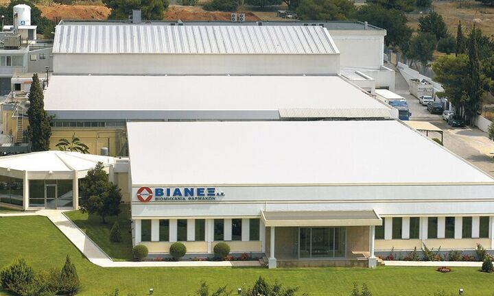 Τη φαρμακοβιομηχανία Βιανέξ επαναπιστοποίησε η TÜV Hellas
