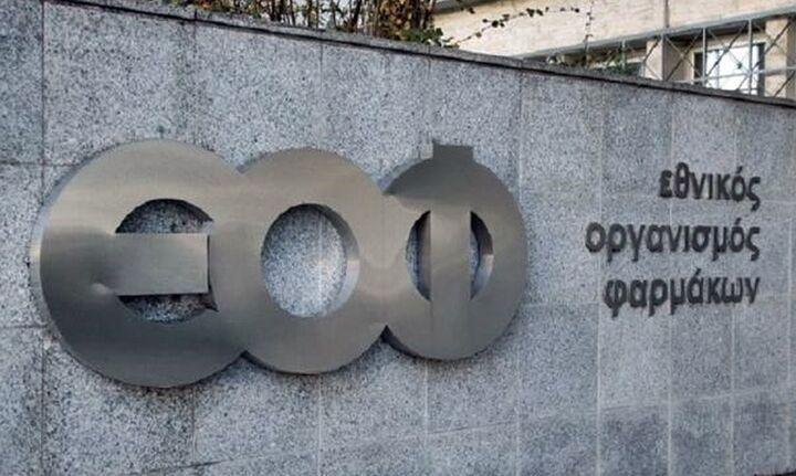 Ανάκληση αντισηπτικού από τον ΕΟΦ: Δεν έχει άδεια