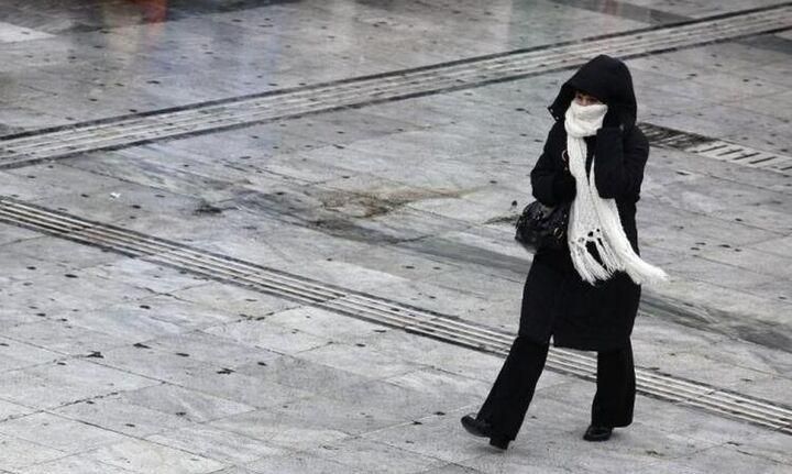 Κύμα κακοκαιρίας σε δύο φάσεις την Πρωτοχρονιά: Εντονο κρύο και χιόνια - Χάρτες