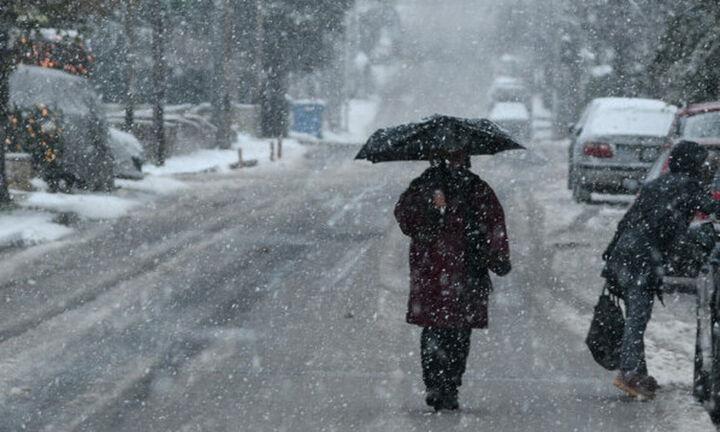 Νέο κύμα κακοκαιρίας: Xιονοπτώσεις ακόμη και σε περιοχές χαμηλού υψομέτρου