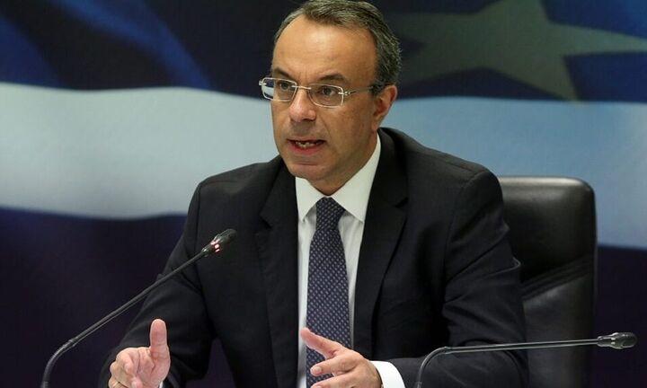 Σταϊκούρας: Αυξάνει το κονδύλι των 7,5 δισ. για την αντιμετώπιση της πανδημίας