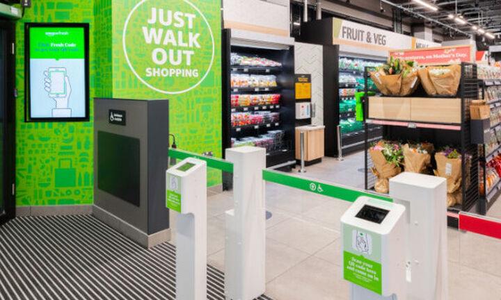 Amazon Fresh: Η Amazon άνοιξε  στο Λονδίνο ένα σούπερ μάρκετ χωρίς ταμεία