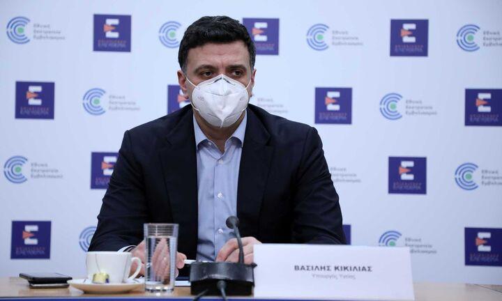 Κικίλιας: Δεν αναστέλλονται οι εμβολιασμοί με AstraZeneca - «Πυξίδα» ο ΕΜΑ