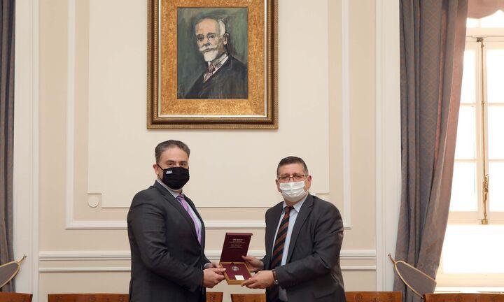 Μνημόνιο Συνεργασίας μεταξύ της ΕΔΑ Αττικής και του Οικονομικού Πανεπιστημίου Αθηνών