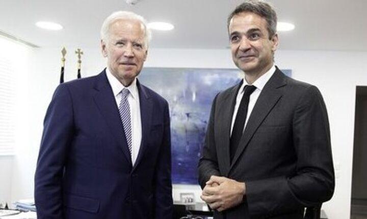 Πρώτη επικοινωνία Μητσοτάκη-Μπάιντεν την 25η Μαρτίου: Στη Σύνοδο Κορυφής και ο Αμερικανός πρόεδρος