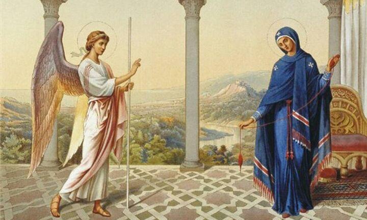 25η Μαρτίου: Η εθνική εορτή και ο Ευαγγελισμός της Θεοτόκου - Ποιοι γιορτάζουν σήμερα